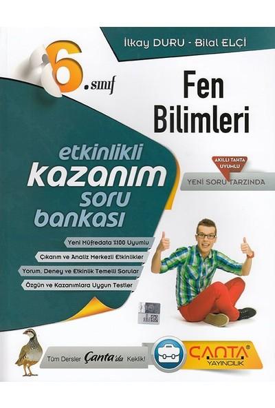 Çanta Yayınları 6.Sınıf Fen Bilimleri Etkinlikli Kazanım Soru Bankası