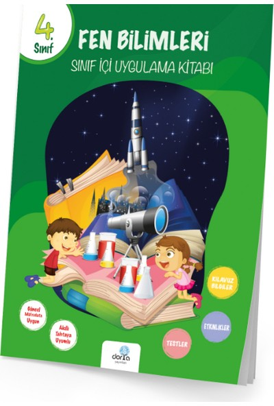 Dorya Yayınları 4.Sınıf Fen Bilimleri Sınıf İçi Uygulama Kitabı