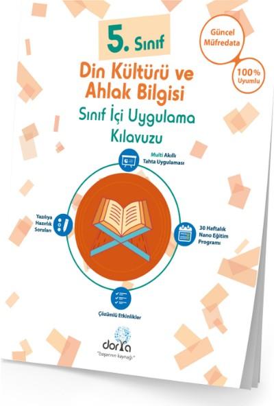 Dorya Yayınları 5.Sınıf Din Kültürü Sınıf İçi Uygulama Kılavuzu