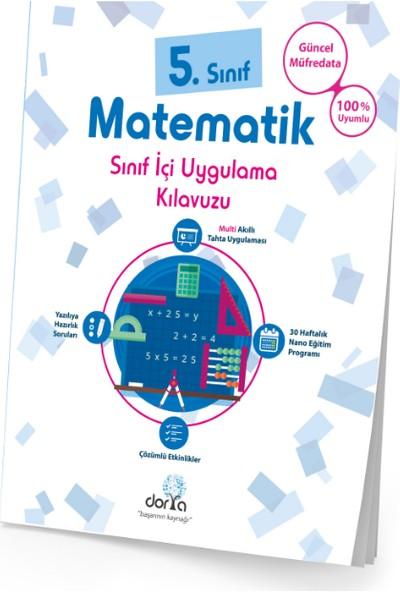 Dorya Yayınları 5.Sınıf Matematik Sınıf İçi Uygulama Kitabı