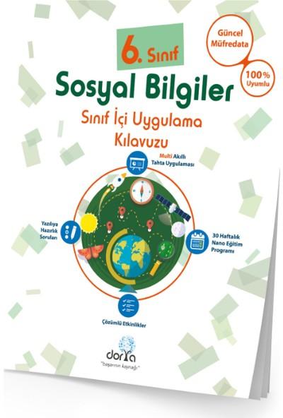 Dorya Yayınları 6.Sınıf Sosyal Bilgiler Sınıf İçi Uygulama Kitabı
