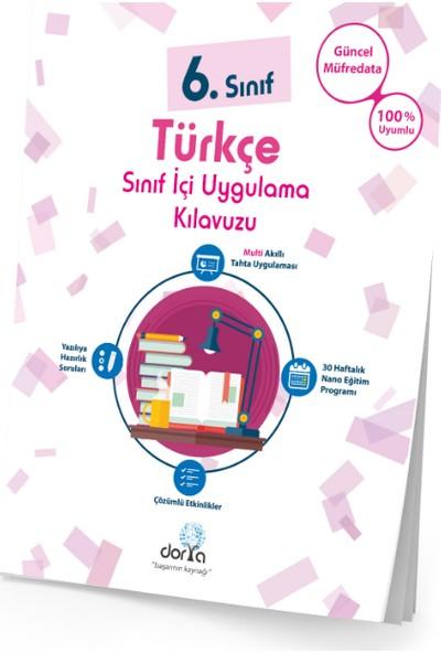 Dorya Yayınları 6.Sınıf Türkçe Sınıf İçi Uygulama Kitabı