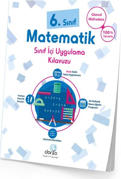 Dorya Yayınları 6.Sınıf Matematik Sınıf İçi Uygulama Kitabı