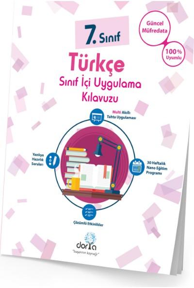 Dorya Yayınları 7.Sınıf Türkçe Sınıf İçi Uygulama Kitabı