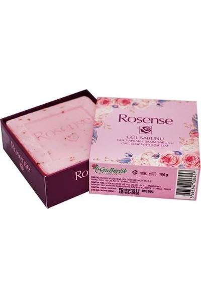Rosense Yüz Güzellik Sabunu Tekli Gül Yapraklı