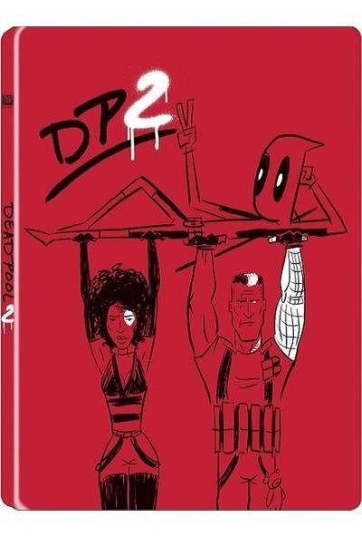 Deadpool 2 Bluray Metal Kutu (2 Dısk Steelbook Bluray)