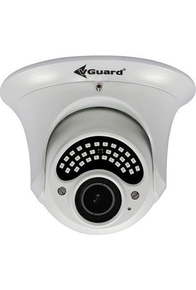 Vguard Vg 250 Dv 2Mp 4İn1 2.8 12Mm Varifocal Lens Dome Güvenlik Kamerası