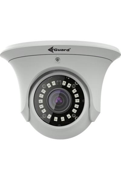 Vguard Vg 420 Dfw 4Mp Ip 3.6 Mm Sabit Lens H.265 Truewdr Dome Akıllı Güvenlik Kamerası