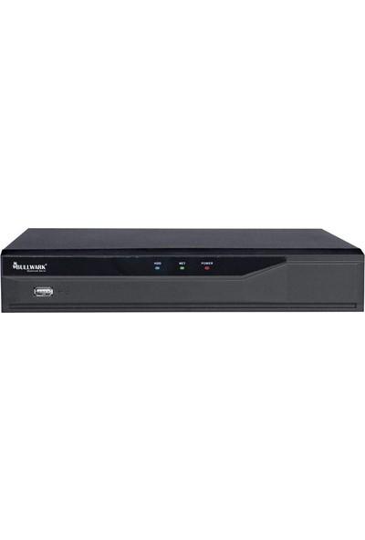 Bullwark Blw N2008P8 D1 8 Kanal 6Mp H.264 1 Disk 8 Kanal Poe Network Kayıt Cihazı