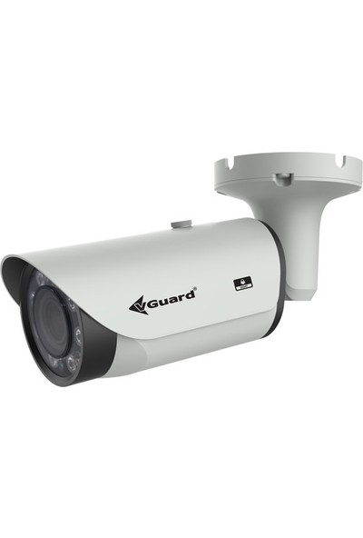 Vguard Vg 201 Bv 2Mp Ip 2.8 12Mm Varifocal Lens H.265 50M Bullet Ip Güvenlik Kamerası