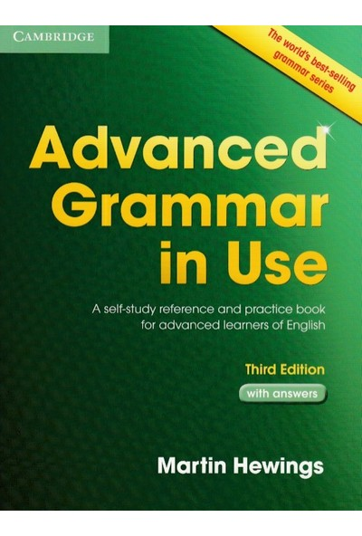 Cambridge Advanced Grammar İn Use With Answers Yeşil