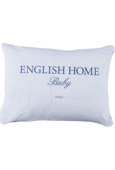 English Home Comfy Pamuk Bebe Yastık 35x45 Cm Beyaz