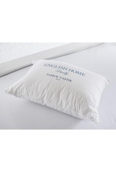 English Home Comfy Pamuk Yastık 50x70 Cm Beyaz