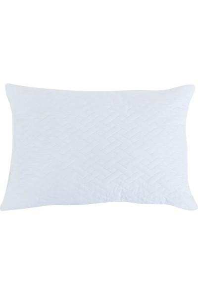 English Home Puff Yastık 50x70 Cm Beyaz