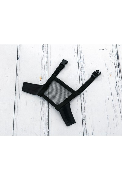 English Home Muzzle Naylon Ağizmaskesi 10,0x10,5x2,0 Cm Siyah