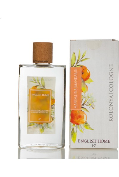English Home Mandalina Kolonya 200 Ml Beyaz
