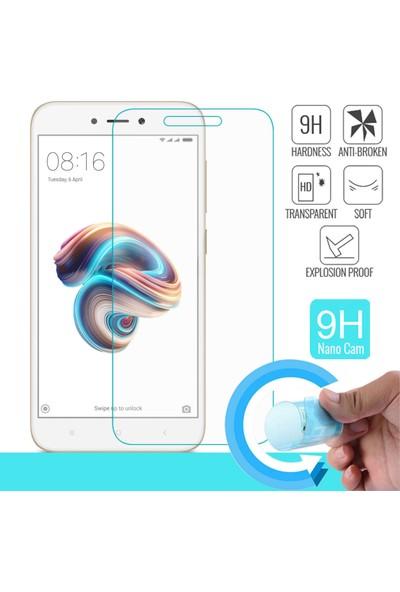 Kılıfist Xiaomi Redmi 5A Nano Cam Ekran Koruyucu Film Cam Ve Plastik Karışımı 9H