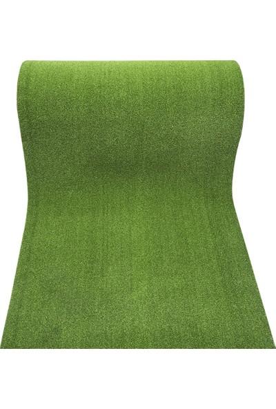 Kos Çim Halı Suni Yeşil Çim Paspas 7Mm Yapay Çim