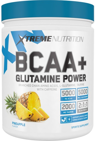 XTREME BCAA+ Glutamine Power 500 gr (Ananas)