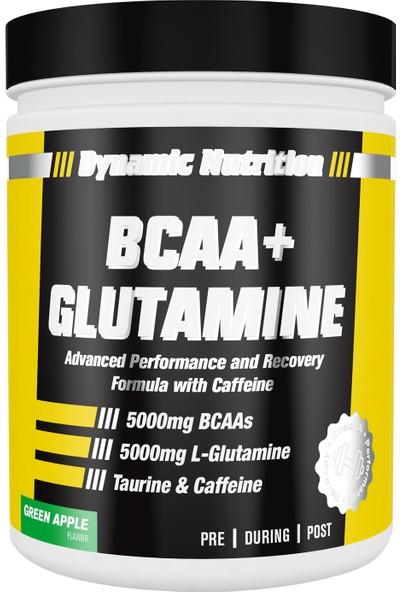 Dynamic Bcaa+ Glutamine 300 Gr (Yeşil Elma)