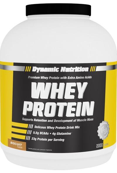 Dynamic Whey Protein Tozu 2000 Gr (Bisküvi)