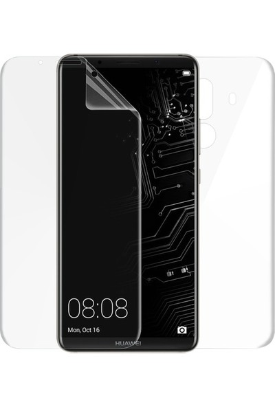 Kılıfist Huawei Mate 10 Pro Ön + Arka Kavisler Dahil Tam Ekran Kaplayıcı Film