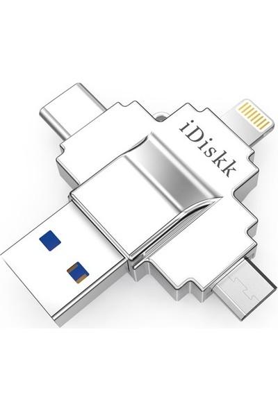 iDiskk USB Bellek 128GB (U019)