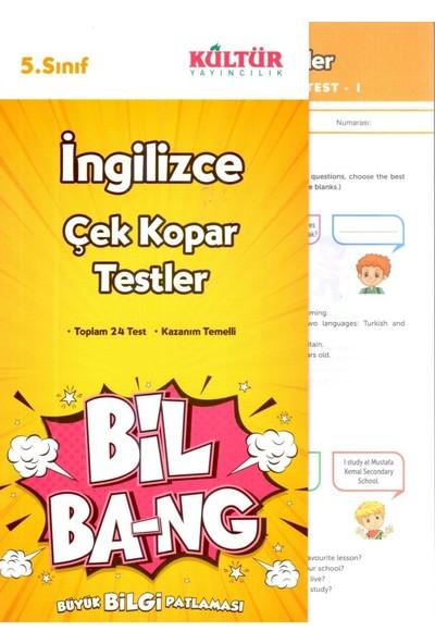Kültür Yayınları Bil-Bang 5. Sınıf İngilizce Çalışma Testi