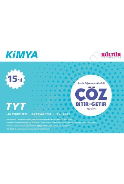 Kültür Tyt Kimya Bitir-Getir 15 Li