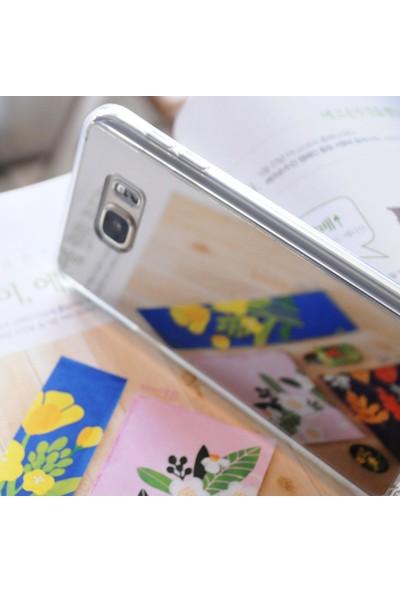Ringke Mirror Fusion Galaxy Note 7 FE Aynalı Kılıf Silver - Extra Darbe Emici