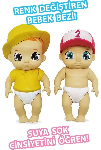 Baby Secrets Sürpriz Figür Ve Ördekli Tahterevalli Seti Seri 2