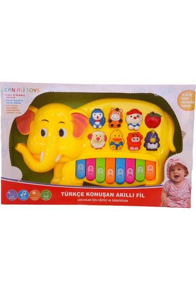 Can Ali Toys Türkçe Konuşan Akıllı Fil Piyano