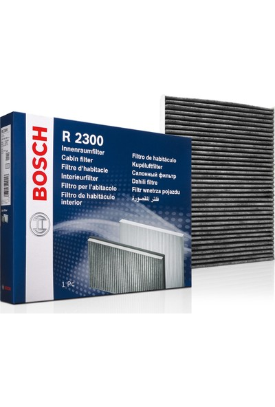 Bosch Renault Fluence 1.5 DCI Aktif Karbonlu Polen Filtresi- Motor Kodu:K9K (2010-2018)