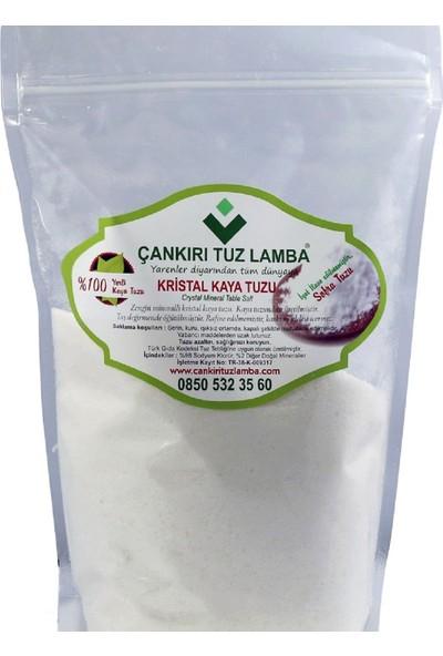Çankırı Doğal Kristal Kaya İyotsuz Katkısız Sofra Tuzu 1 kg