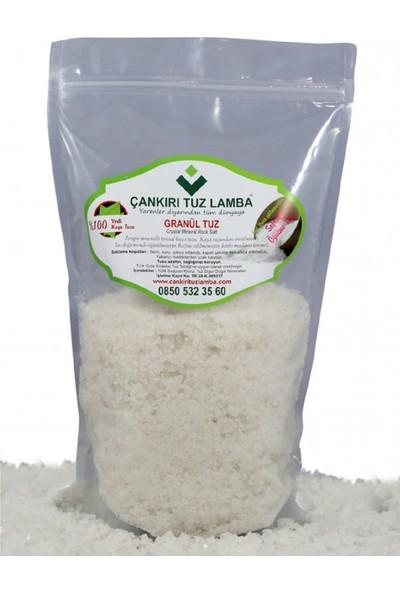 Çankırı grranül Kristal Kaya Sofrada Öğütme Tuzu 1 kg