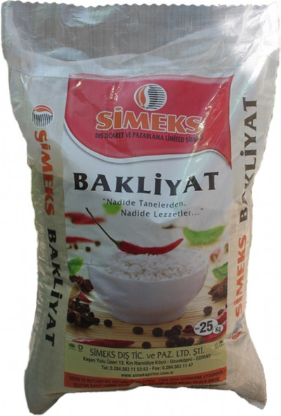 Trakya Bakliyat Osmancık Pirinç 25 kg