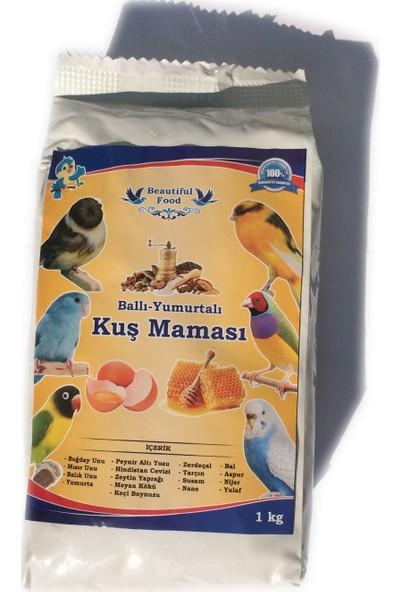 Beautiful Food Ballı - Yumurtalı Kuş Maması 1 KG