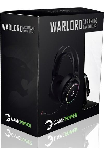 Gamepower Warlord Siyah 7.1 Surround RGB Oyuncu Kulaklık