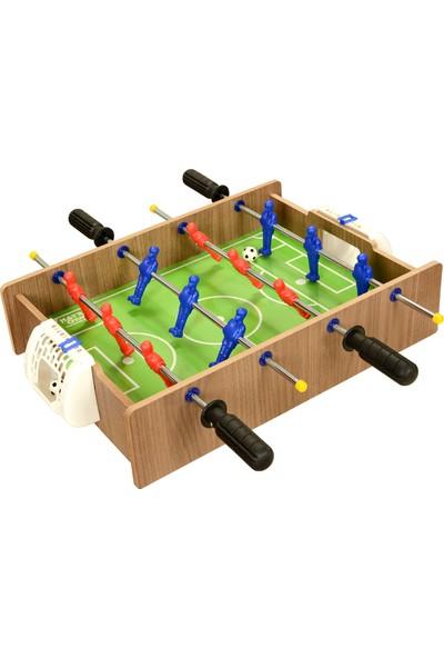 Matrax Oyuncak Ahşap Hokey Ve Masa Maçı Oyunu 2 Si 1 Arada
