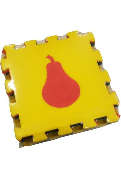 Matrax Oyuncak Polimat 33 x 33 cm x 9 mm Meyveler