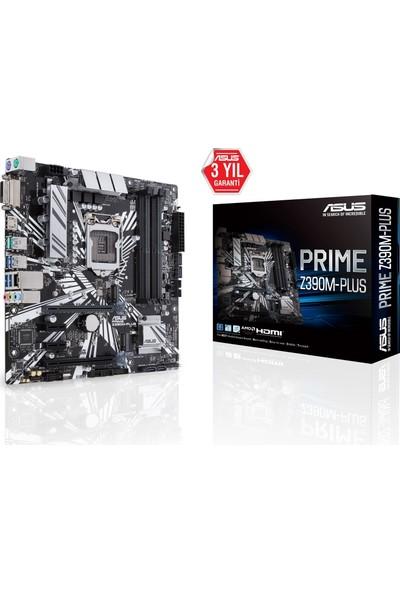 Asus Prime Z390M-PLUS Intel Z390 4266MHz DDR4 Soket 1151 mATX Anakart