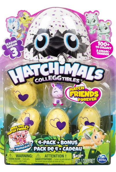 Hatchimals Colleggtibles 4'lü Figür Paket Sezon 3