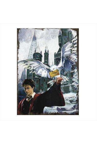 Tablomega Ahşap Tablo Harry Potter