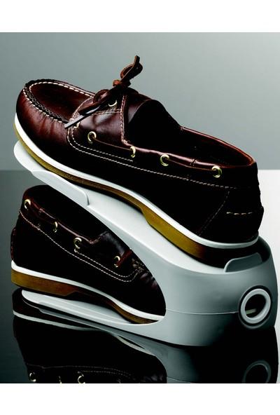 Gondol 24 Adet Pratik Ayakkabı Rampası Beyaz