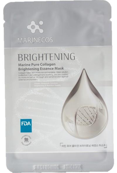 Ancors Marin Kolajen İçeren Yüz Maskeleri - Beyazlatıcı Yüz Maske