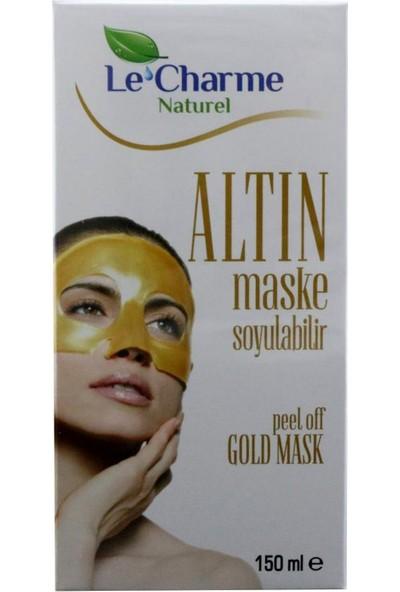 Le Charme Naturel Altın Maske