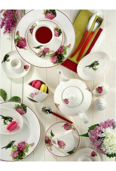 Kütahya Porselen 33 Parça 8065 Dekor Kahvaltı Takımı