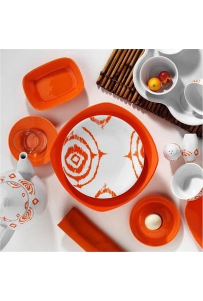 Kütahya Porselen Zeugma 43 Parça 6 Kişilik Porselen Kahvaltı Takımı