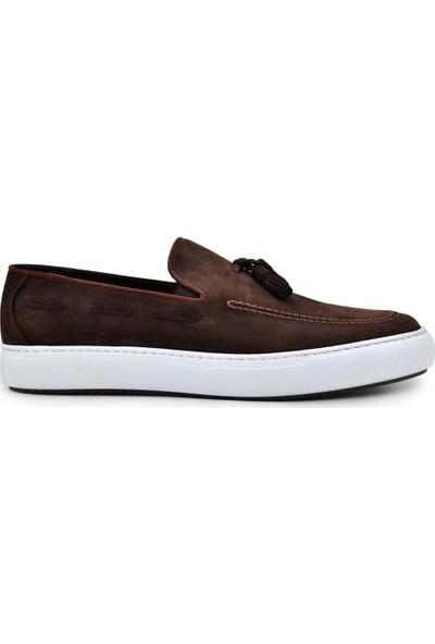 Nevzat Onay Kahve Süet Günlük Erkek Ayakkabı