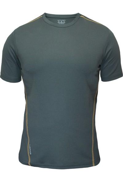 Sivugin Outdoor Koşu Antreman Tişört Erkek -Haki